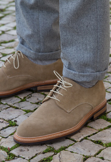 Derbies Suédé Beige