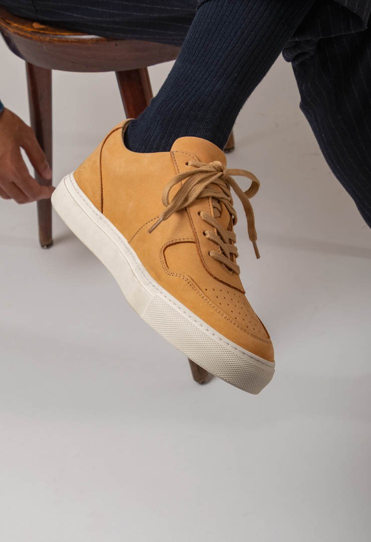 SNEAKERS WAGYU CAMEL
