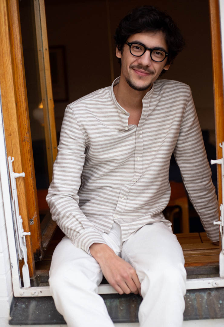 CHEMISE SON TAUPE